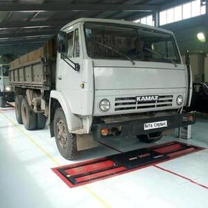 Линия тех.контроля для легковых, грузовых автомобилей и микроавтобусов до 13 т на ось ЛТК-С 13000.01 (МЕТА)