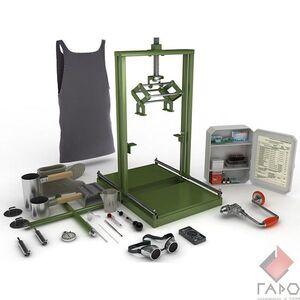 Комплект оборудования для ремонта аккумуляторных батарей бронетанковой техники 4akb-КА-4